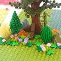 Аксессуары для дома, сада, города, строительные блоки, растения, дерево, трава, цветок, MOC детали, DIY Кирпичи, совместимы с любыми брендами игру...