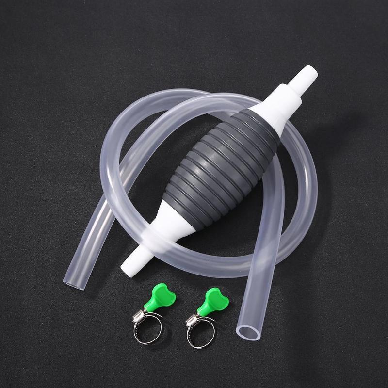 Manual Fuel Pump Oil Pump Fuel Gas Petrol Transfer Tool For Car Moto Boat Aluminum Rubber Fuel Pump