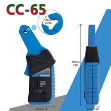 Hantek cc65 ac/dc atual braçadeira medidor cc650 para osciloscópio 400hz largura de banda 1mv/10ma 650a CC-650 com bnc/banana tipo conector