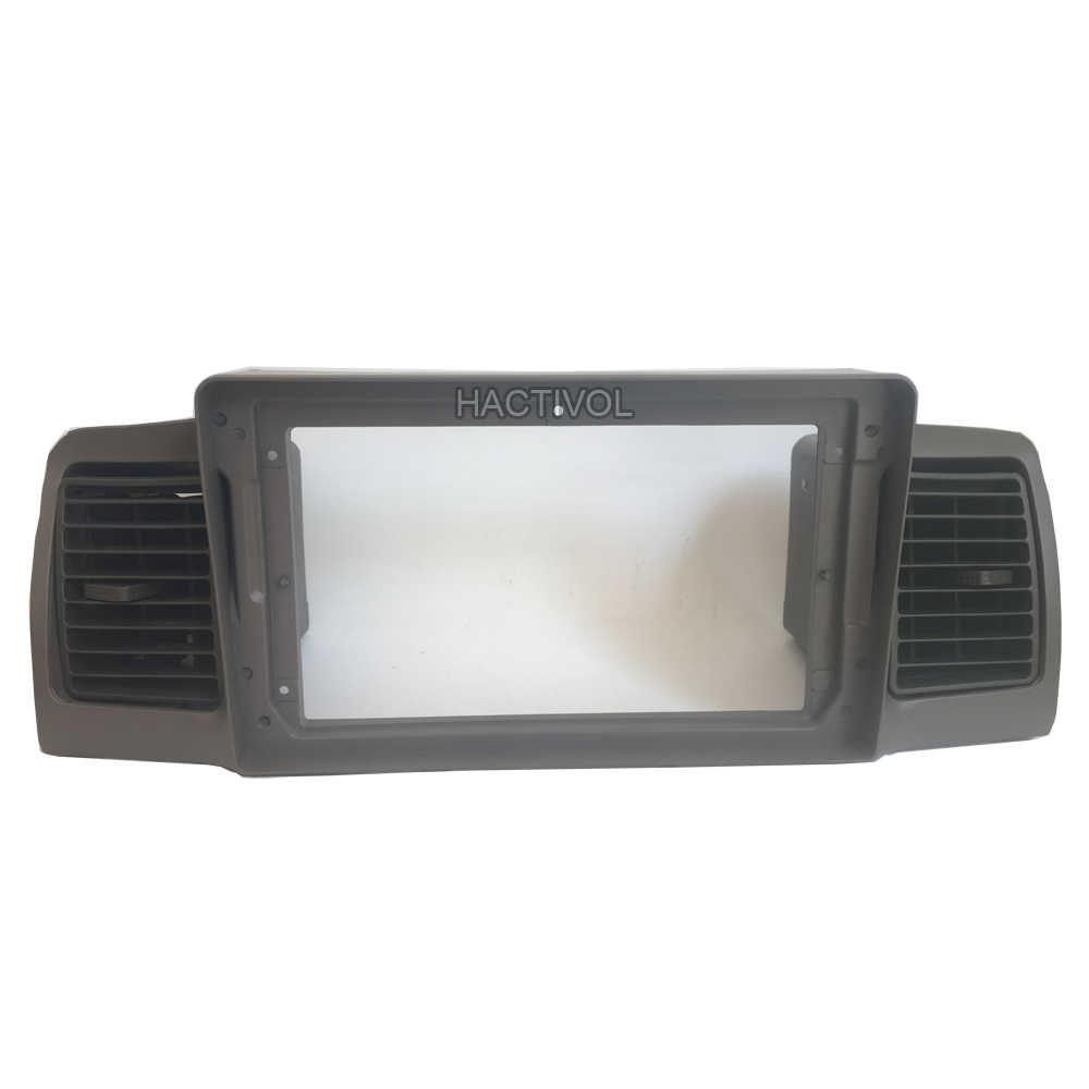 לתלות שיאן רכב DVD מסגרת אודיו מתאם התאמת דאש Trim ערכות Facia פנל עבור טויוטה קורולה E120 קורולה EX BYD f3 רכב רדיו