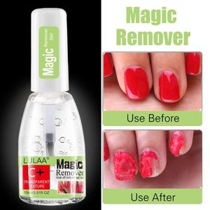 15ML Nail Polish Burst Magic Gel Nail Polish Remover Soak Off Nail Cleaner Nail Polish Remover Degreaser Fast Nail Cleaner TSLM2