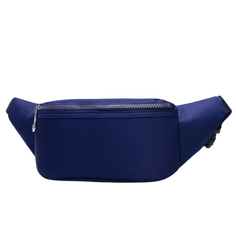 Fashion Fanny Pack High Quality Waterproof Waist Bag New Belt Bag Women Waist Pack Nylon Chest Bag Leisure Run Belly Bag
