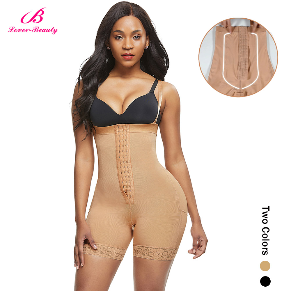 Lover-Beauty High Waist Tummy Control Body Shaper Corset Hip Enhancer  1