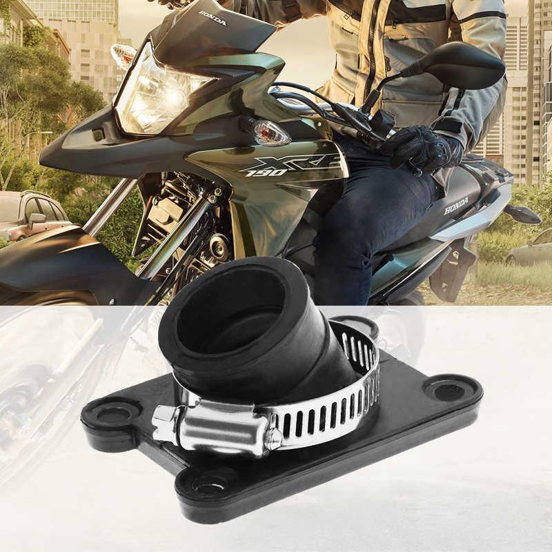 1 negro colector de admisión de tubería para ATV suciedad bicicleta Kart KTM 50 50SX KIT SX JR LC M 2001-2011