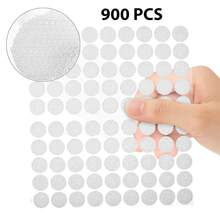 40/50/250/900Pairs Self Adhesive Fastener Tape Dots 10//20/60mm Strong Glue Magic Sticker Disc White Black Round Coins Hook Loop(China)