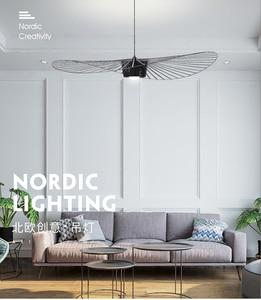 Скандинавская оригинальная люстра, пост-современный светодиодный светильник, роскошный магазин одежды, железная клетка для птиц, французс...
