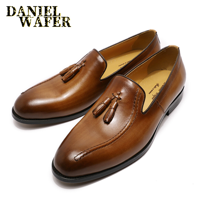 Details about  /Handmade Men White Patent leather shoes moccasins slip ons Men party shoes