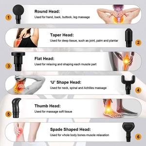Image 2 - จอแสดงผลLCDนวดปืนลึกกล้ามเนื้อนวดกล้ามเนื้อคอนวดการออกกำลังกายผ่อนคลายSlimming Shapingบรรเทาอาการปวด