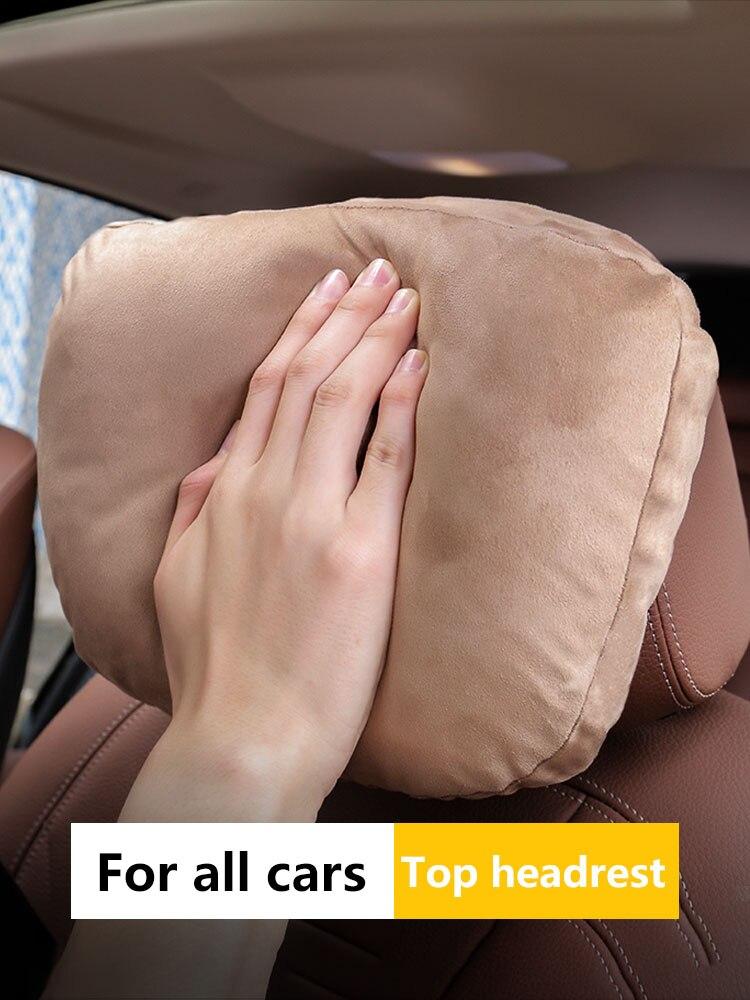Neck-Rest-Cushion Car-Pillow Car-Headrest S-Class Adjustable Universal Soft Neck-Support-Seat/maybach-Design