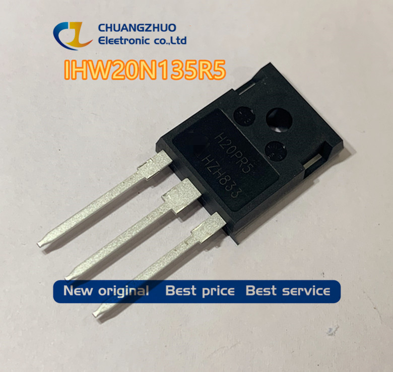 10Pcs/lot IHW20N135R5  H20PR5 IGBT 40A 1350V TO247 Good Quality