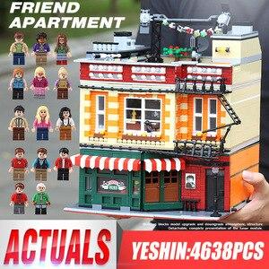 Streetview 10189 строительные игрушки совместимы с MOC-34463 центральной Perk теорией Модульные строительные блоки кирпичи детские рождественские пода...