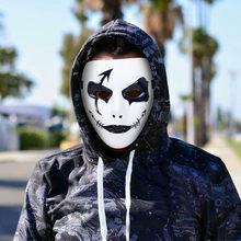 Engraçado festa máscara halloween máscaras de terror festa masquerade cosplay máscara assustador engraçado terror máscaras #0826y30