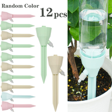 12Pcs Plant Self Watering Adjustable Stakes System Vacation Plant Waterer Self Automatic Watering Spikes droshipping watering system gardena 13001 20 000 00