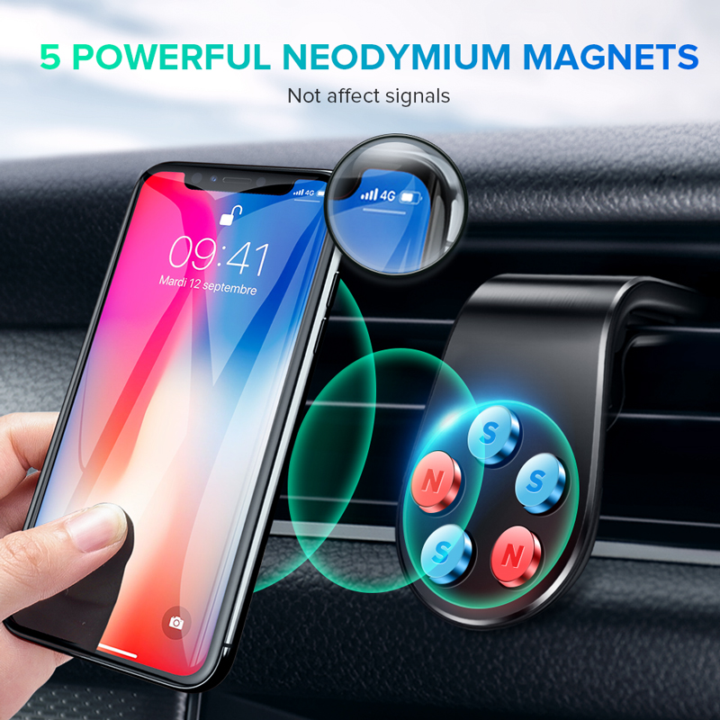 Magnetic Car Phone Holder Car Air Vent Magnet Stand In Car For Iphone Hauwei Samsung Xiaomi Magnetic Wall Universal Holde Stand
