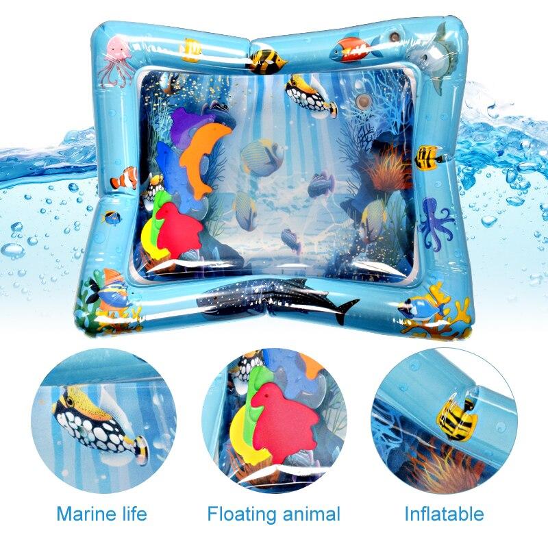 Kreative Baby-Wassermatte aufblasbare tätschelte Kissen Kissen - Baby und Kleinkind Spielzeug - Foto 5