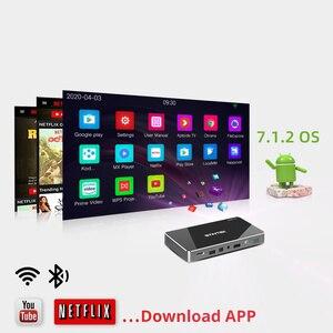 Image 3 - بروجكتر محمول بيكو ليد DLP LAsEr Mobile 1080P صغير ذكي للجيب  أندرويد وخاصية واي فاي من طراز BY+D3INTEK P10 للهواتف الذكية 4K سينما ثلاثية الأبعاد