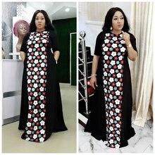 Sukienki afrykańskie dla kobiet Dashiki lato Plus rozmiar sukienki damskie tradycyjne ubranie afrykańskie bajki