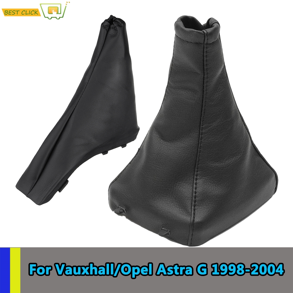 Handbrake Gear Shift Stick Boot Gaiter Gaitor Cover Pu Leather Coupe For Opel/Vauxhall Astra G 1998-2004 Coupe 2000-2004