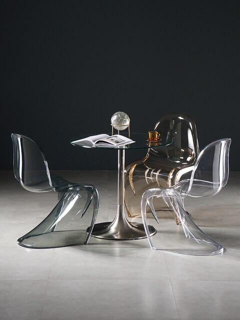 Transparent Clear Chair 3