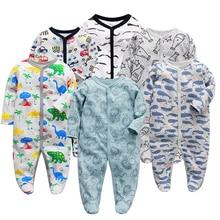 Infant Jumpsuit Kids Clothes Romper Boys Long-Sleeve Toddler Girls Newborn-Baby 12-Months