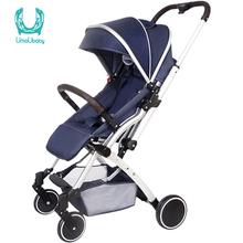 Baby Stroller Lightweight Travel Tourism Folding Trolley Can