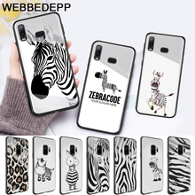 Cartoon zebra supreman stripe On Sale Glass Case for Samsung S7 Edge S8 S9 S10 Plus A10 A20 A30 A40 A50 A60 A70 Note 8 9 10