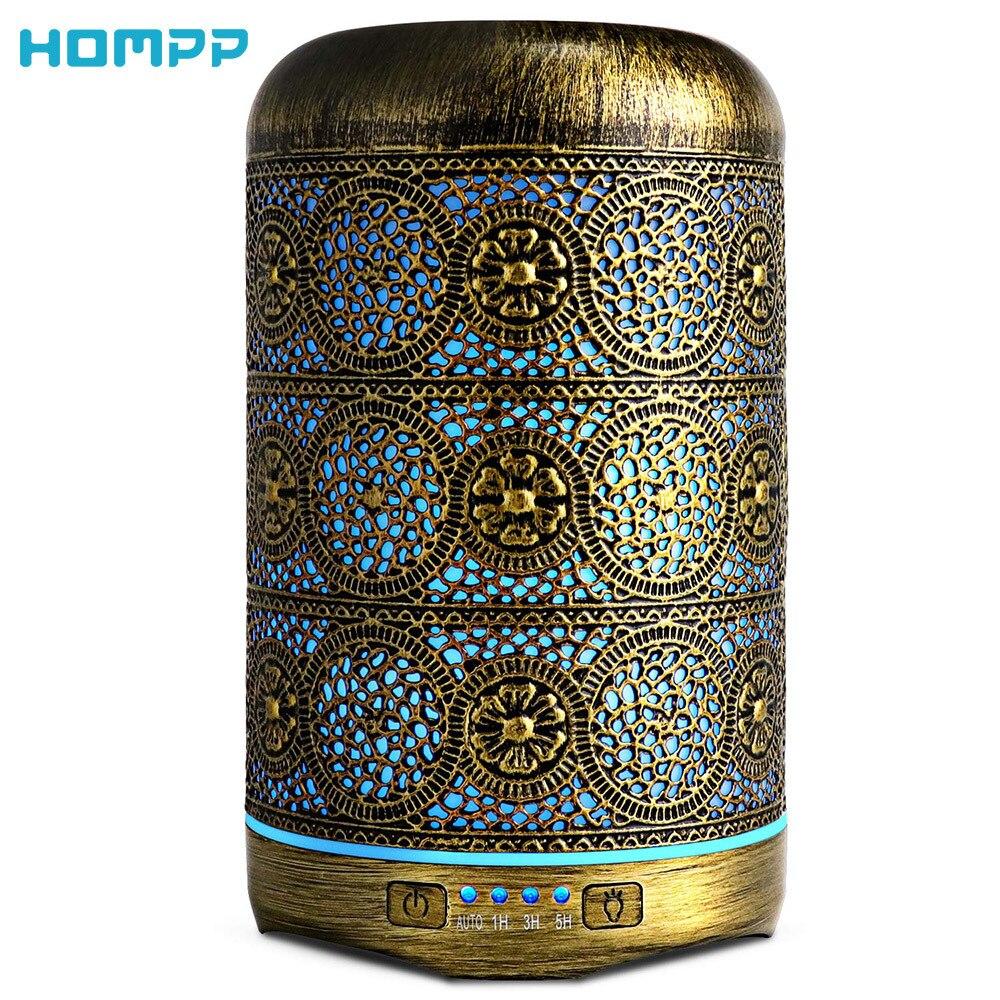 Metal Aromatherapy Machines 260ml Essential Oils Diffuser