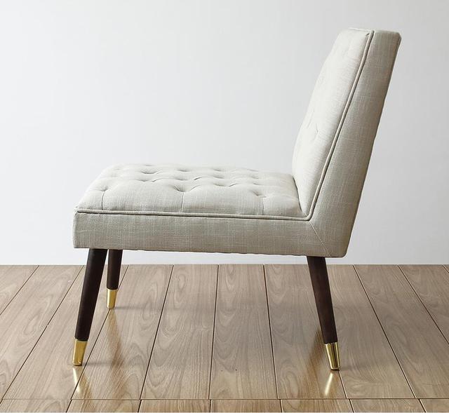 Luxury European Style Vintage Accent Chair  3