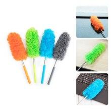 2020 дастер Регулируемая метелка щетка для пыли уборка пыли из микрофибры, удлиняющая растягивающееся перо, домашняя тряпка, кондиционер, авт...