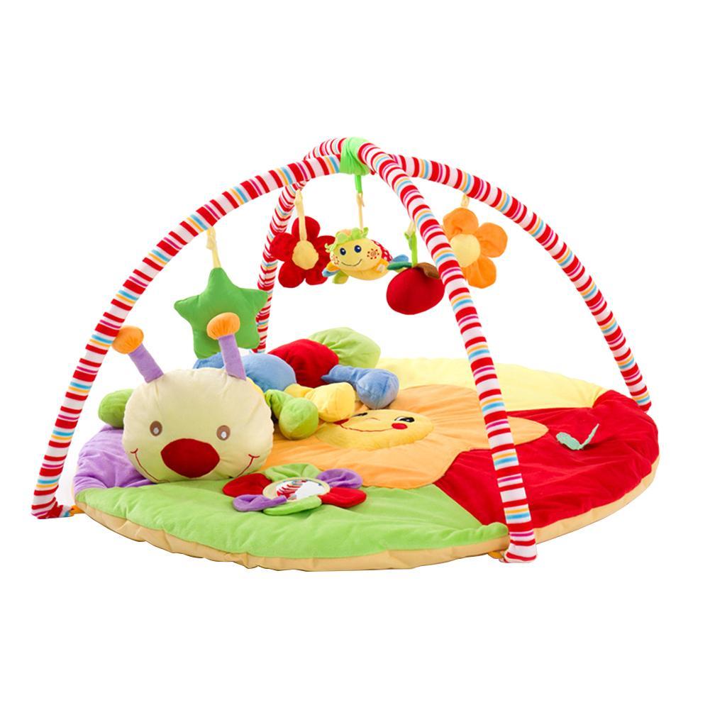 Animaux de bande dessinée bébé jouer tapis bambin enfants ramper couverture jouets éducatifs tapis tapis pour enfants décoration de chambre accessoires Photo