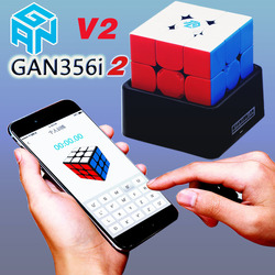 Magic puzzle GAN 356 i 2 356i2 3x3x3 cubes GAN356i v2 i2 magnet 3x3 GAN robot set smart Bluetooth App Cube Station twist toy