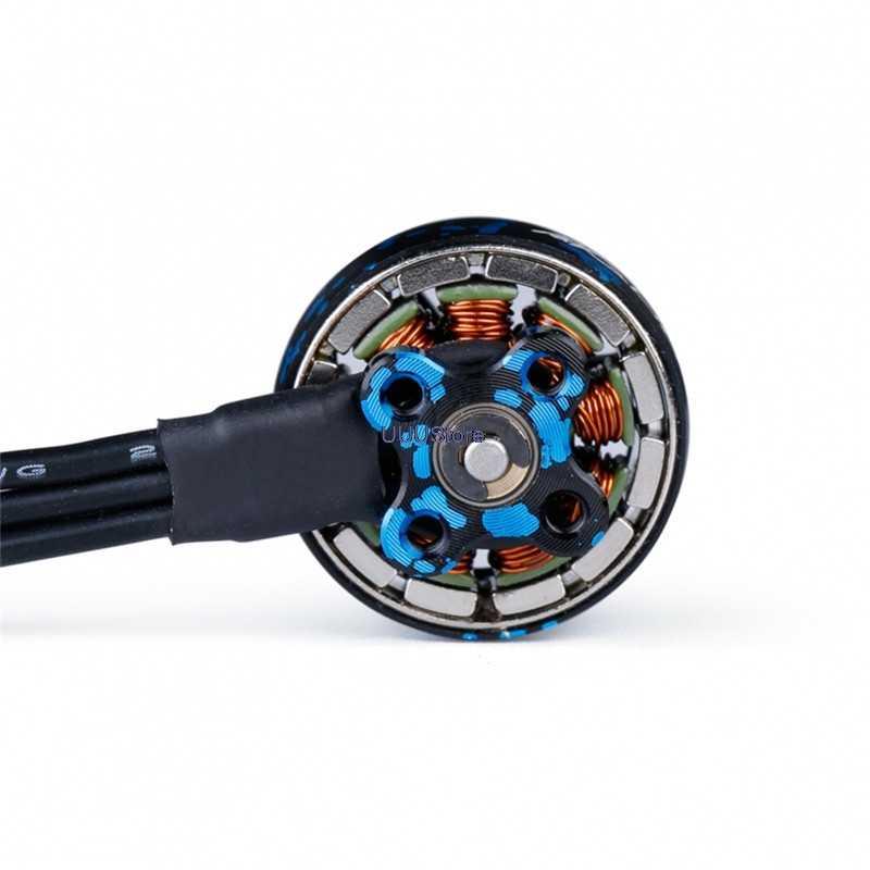 7000KV 2-4S 1.2MM Shaft Brushless Motor for RC FPV DIY Racing Drone iFlight 4 Pcs XING 1404 3800KV 4600KV 4PCS 4600KV