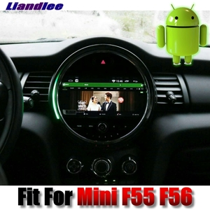 Image 3 - For Mini One Cooper S Hatch One F55 F56 2014~2018 Android Car Multimedia Player NAVI With iDrive CarPlay Radio GPS 4G Navigation