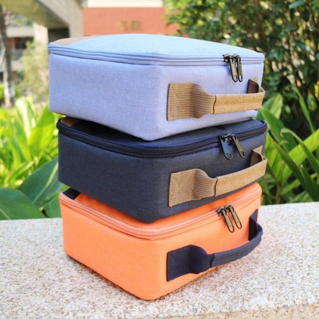 SUNNYLIFE Bolsa de transporte de lona a prueba de golpes, portátil, a prueba de arañazos, funda de bolso para Selphy CP910 1200, Mini proyectores de impresora
