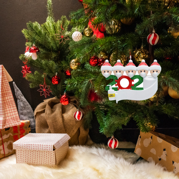2020 Christmas New Year Family Decoration Gift Product Personalized Hanging Ornament Decor Birthdays Party Pendant image