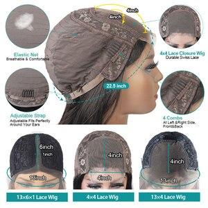 Image 5 - Allove Body Wave Lace Front Pruik Pre Geplukt Menselijk Haar Pruiken Braziliaanse Body Wave Kant Voor Menselijk Haar Pruiken 360 kant Frontale Pruik