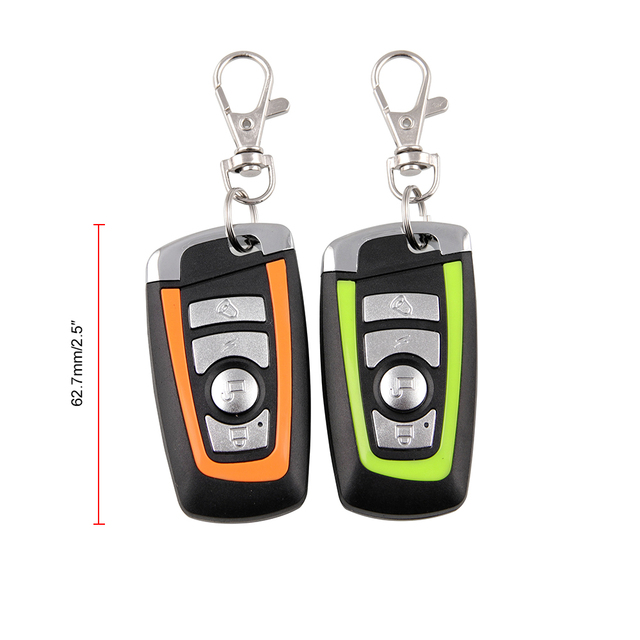 Universal Two-way Motorcycle Scooter Anti-theft Security Alarm System Engine Start Remote Control Key MB-AH023 4