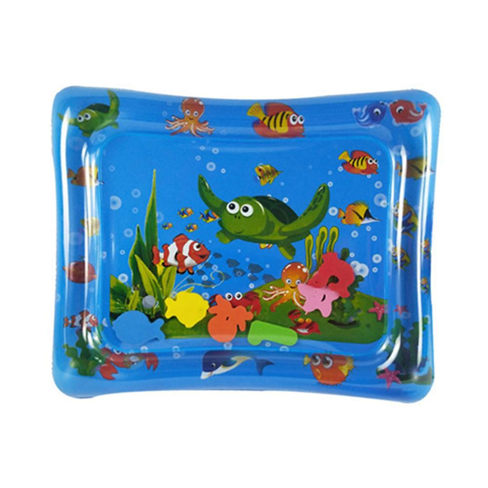 New Baby Kids Water Play Mat Toys Inflatable PVC Infant Tummy Time Play Mat Toddler Activity Play Center Water Mat For Babies