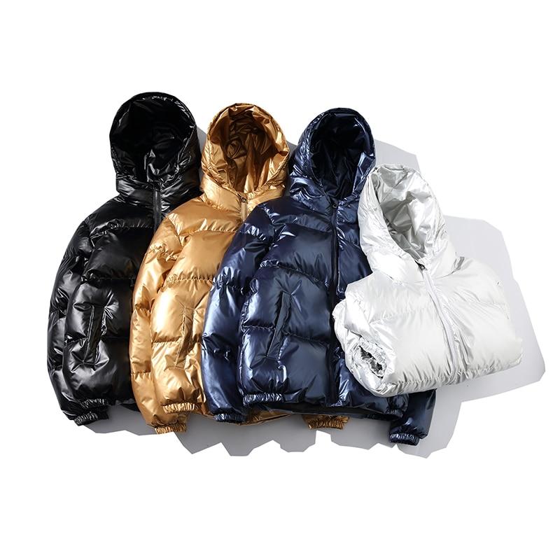 2018 Men Jacket Coats Thicken Warm Winter Jackets Male Parka Hooded Outwear Cotton-padded Jacket korean fashion man clothes 5XL