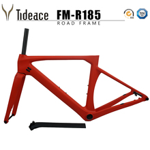 цена на 142*12mm T800 Carbon Fiber China bicycle frame factory 700c aero racing carbon road bike frame disc brake