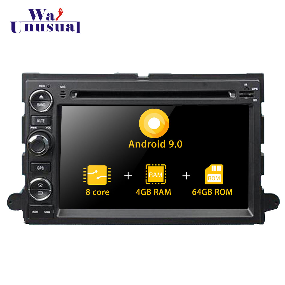 Autoradio 7'' Octa Core Android 9.0 Car Video Player For <font><b>Ford</b></font> Mustang <font><b>Escape</b></font> Freestyle 2005-<font><b>2009</b></font> Stereo Auto Car Radio 2 Din image