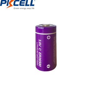 Image 3 - 6pcs/lot PKCELL  ER26500  C Size Lithium Battery 3.6 Volt 9000mAh 3.6V Li SOCl2 Unrechargeable Batteries for PLC Medical Devices