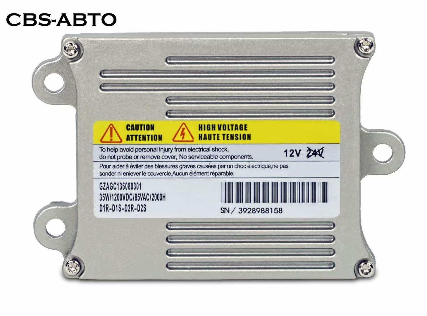 CBS ABTO HID Xenon Ballast 93235016 For VW CC Aston Martin Igniters Retrofit Headlight Control Module For Denso Koito