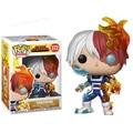 Оригинальные виниловые куклы Funko pop Todoroki Shoto My Hero Академия #372 ограниченный выпуск, фигурки, модели Аниме, игрушки, детские подарки, Лидер прод...
