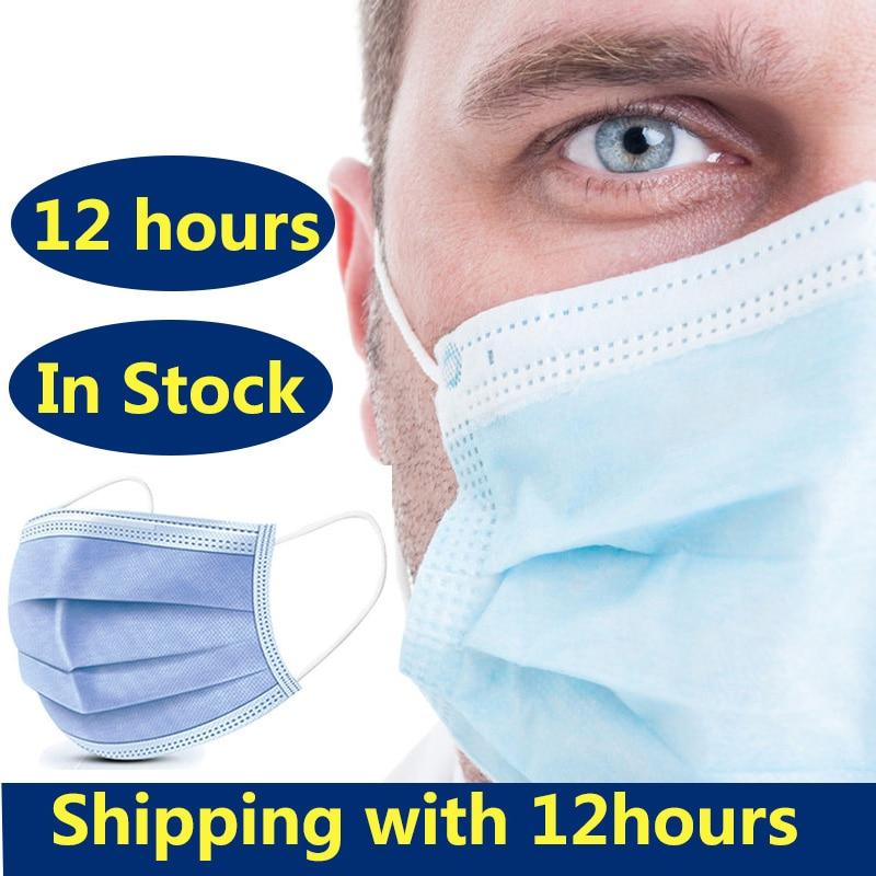 76.88руб. 55% СКИДКА|10/20/30/50 шт маска для лица анти Пылезащитная маска Повседневная защитная маска Анти туман Пыленепроницаемая Нетканая расплавленная трехслойная анти маска от гриппа|Маски| |  - AliExpress