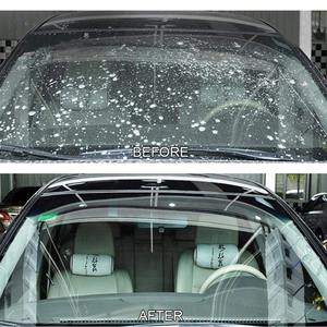 Image 4 - 50Pcs רכב חלון ניקוי לוח תוסס שמשת זכוכית מנקה עבור פיג ו 206 207 3008 306 307 308 406 407 4008 5008