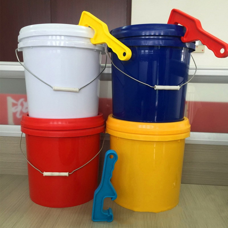 Durable ABS Plastic Bucket Pail Paint Barrel Lid Can Opener Opening Professional Open Lid Wrench Home Hand Tools
