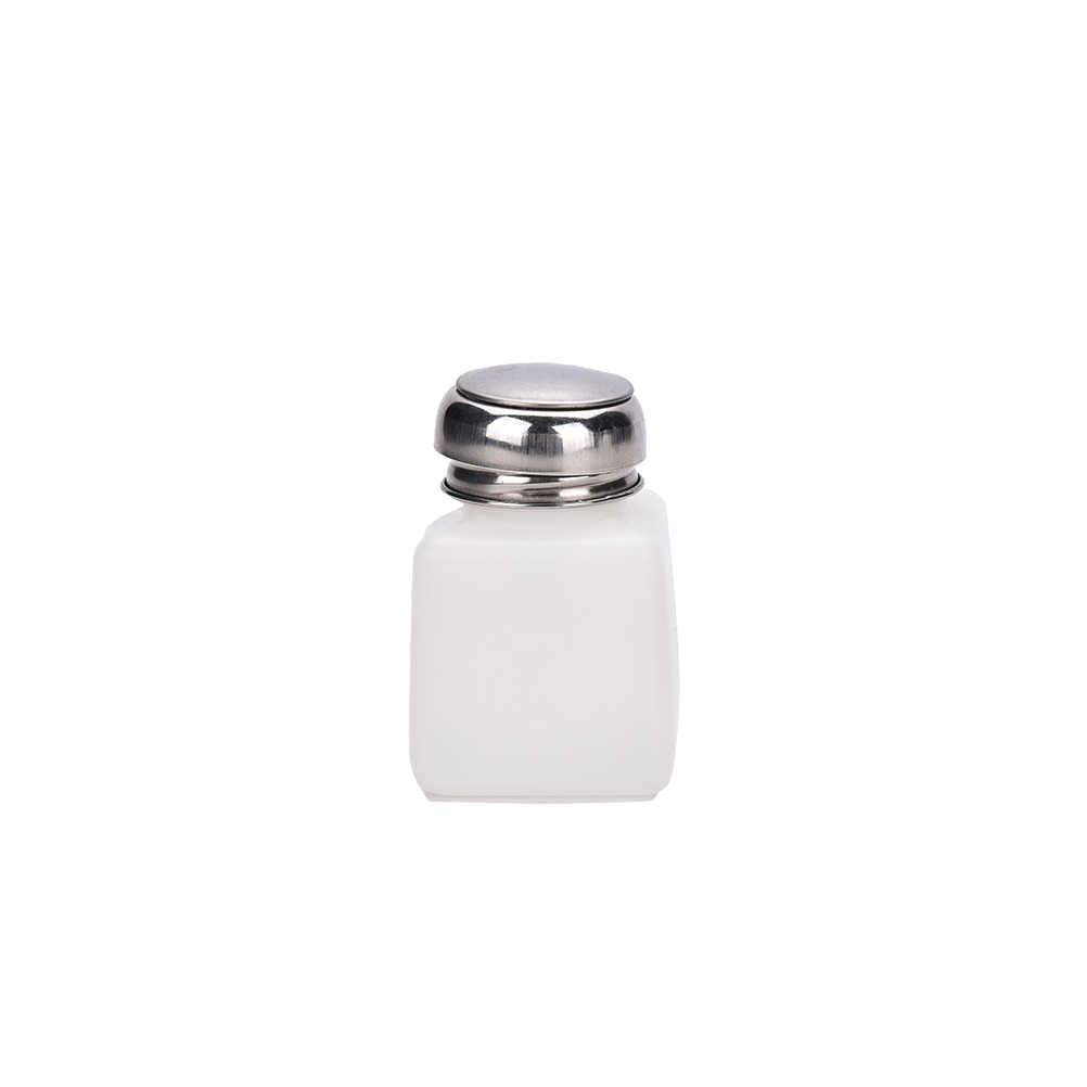 トップ品質 100 ミリリットル/200 ミリリットル/250 ミリリットル便利な液体アルコールプレスネイルポリッシュリムーバーディスペンサーポンプボトル