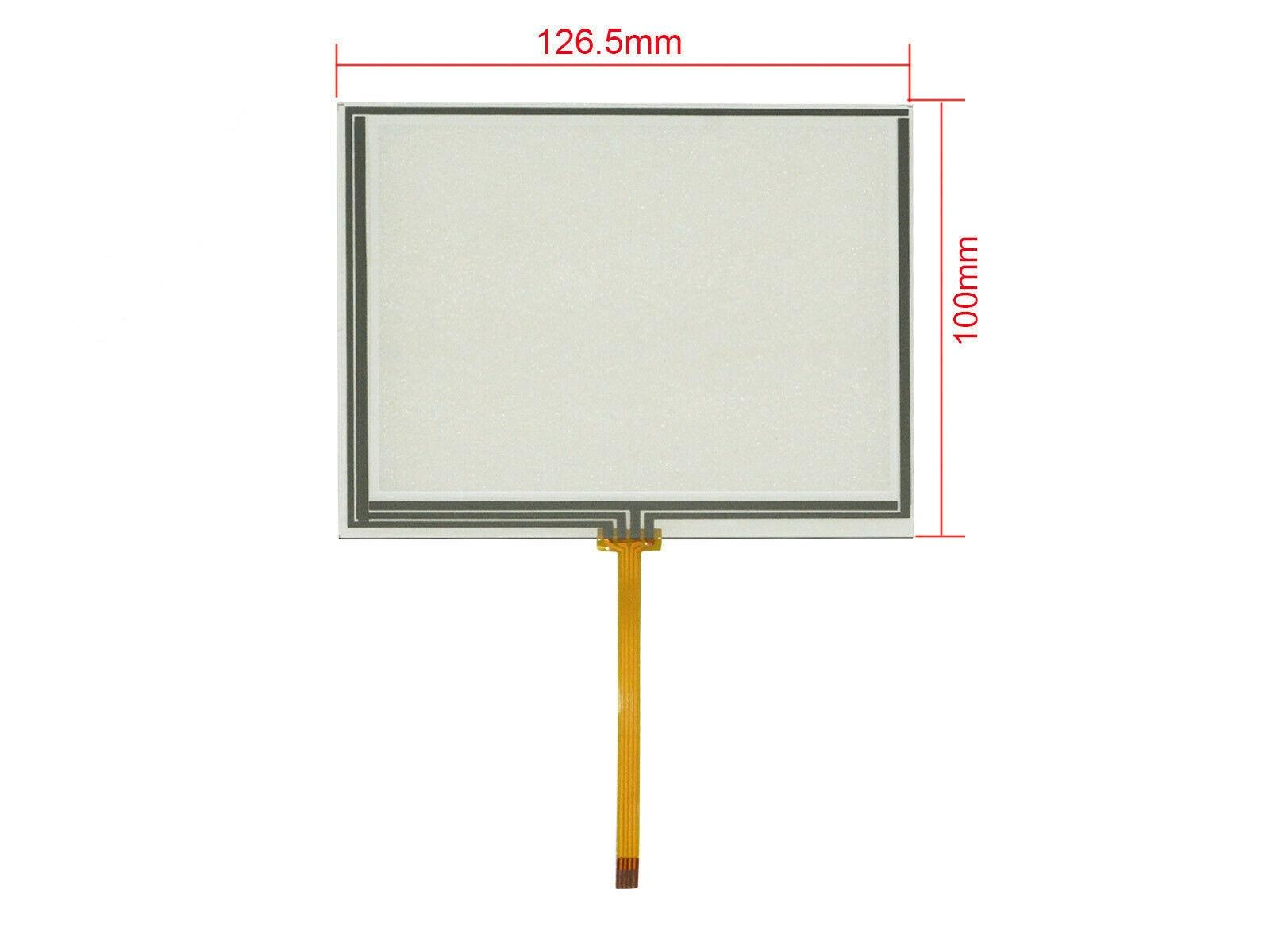 5,6 дюйма 4 провода резистивный сенсорный экран панель дигитайзер для AT056TN52 AT056TN53 AT056TN52/3