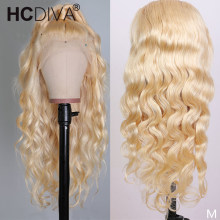 613 Lace Front Wig Transparent 13x4 Remy Blond Brazilian Body Wave Lace Front